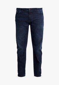 Tommy Hilfiger - MADISON BURKE  - Straight leg jeans - dark-blue denim - 4