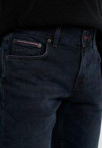 Tommy Hilfiger - STRAIGHT DENTON  BURKE  - Džíny Straight Fit - dark-blue denim - 3