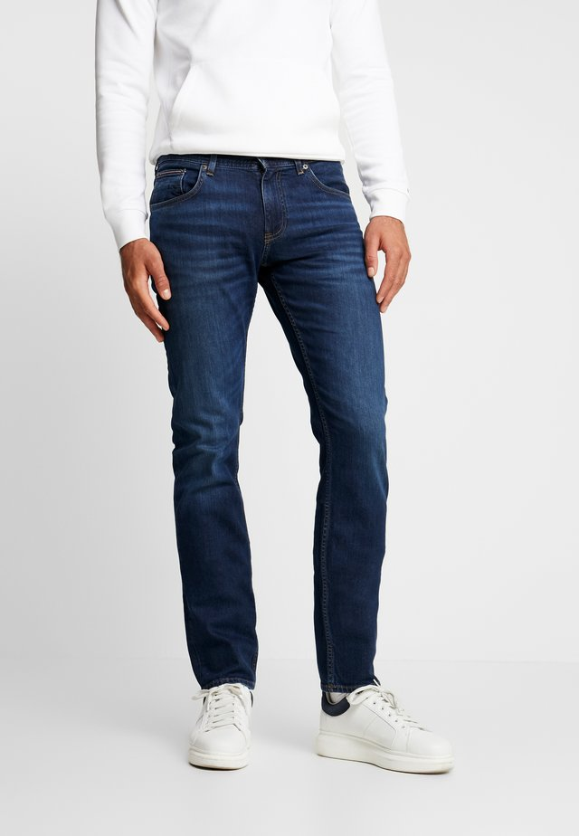 SLIM BLEECKER  - Slim fit jeans - dark blue denim