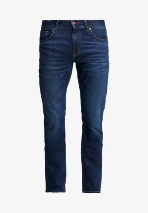 SLIM BLEECKER  - Jean slim - dark blue denim
