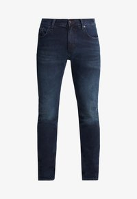 Tommy Hilfiger - EXTRA SLIM LAYTON BURKE BLUE - Jeansy Slim Fit - dark-blue denim - 4