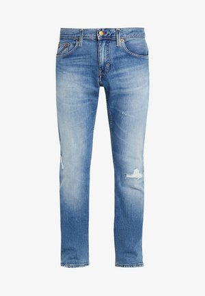 DENTON MONOGRAM CELO WORN - Slim fit jeans - blue denim