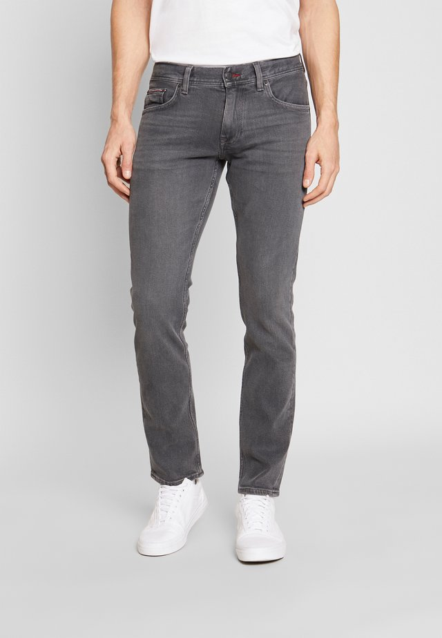 DENTON AMES GREY - Straight leg jeans - grey