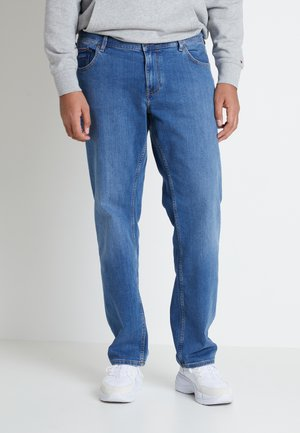MADISON ALVIN - Straight leg jeans - stone blue denim
