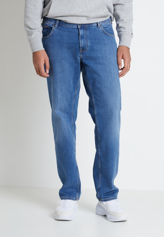 MADISON ALVIN - Jeans a sigaretta - stone blue denim