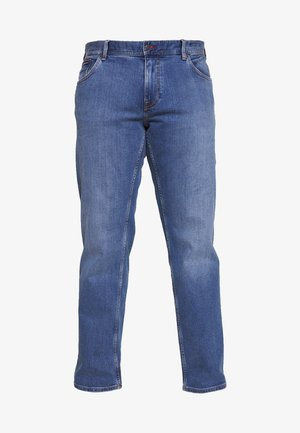 MADISON ALVIN - Džíny Straight Fit - stone blue denim