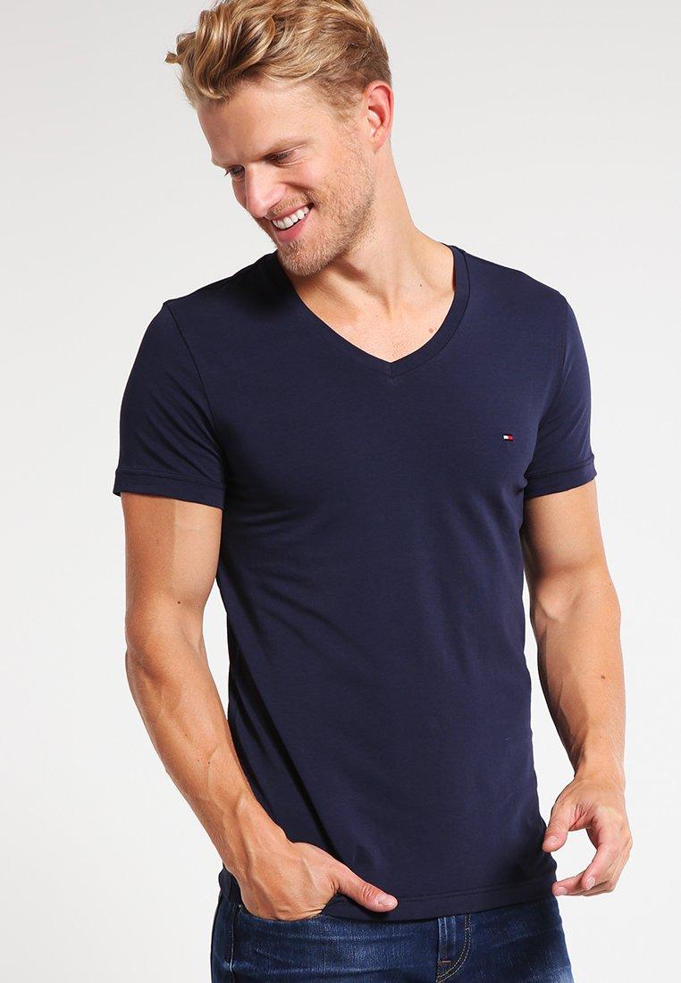 Tommy Hilfiger - T-shirt basic - navy
