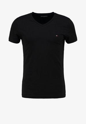 T-shirt basique - flag black