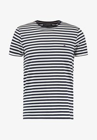 Tommy Hilfiger - STRETCH SLIM FIT TEE - Triko s potiskem - blue