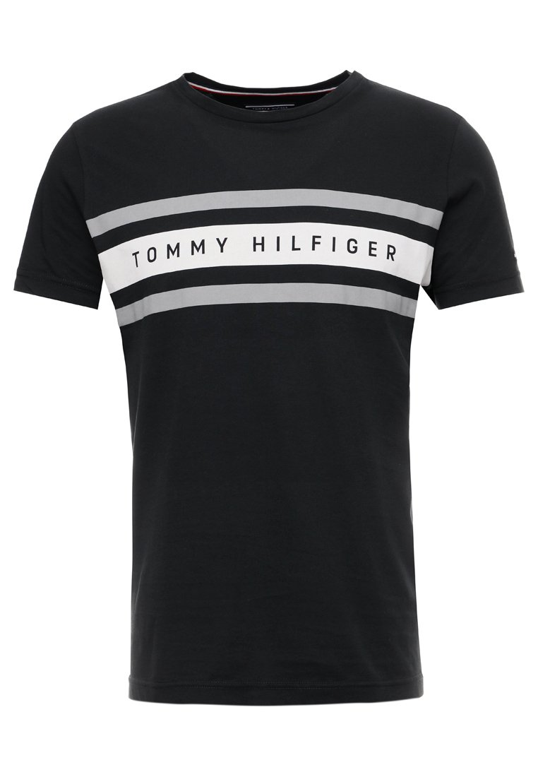 Tommy Hilfiger - GRAPHIC TEE - T-Shirt print - black