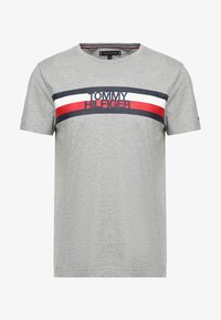 Tommy Hilfiger - LOGO TEE - T-shirt con stampa - grey - 3