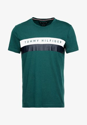 LOGO BAND TEE - Print T-shirt - green