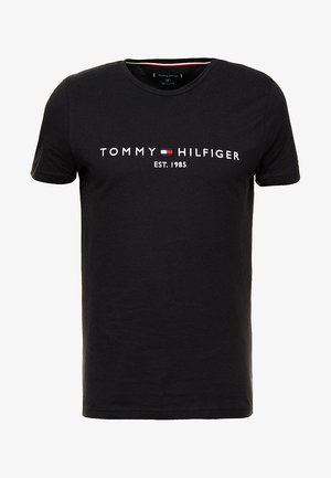 LOGO TEE - Camiseta estampada - black