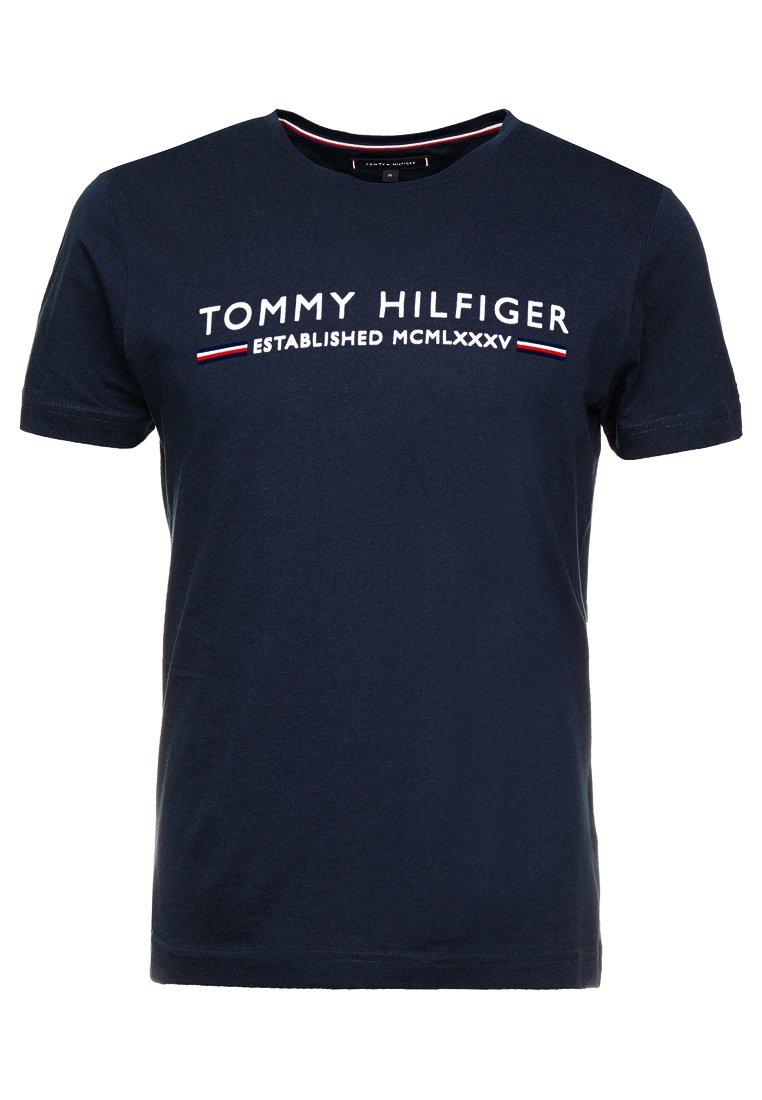 Tommy Hilfiger - ESSENTIAL TEE - T-Shirt print - blue