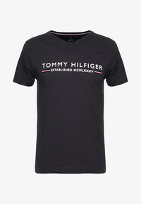 Tommy Hilfiger - ESSENTIAL TEE - T-shirt print - black - 4