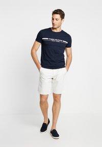 Tommy Hilfiger - YACHT STRIPE TEE - Print T-shirt - blue - 1