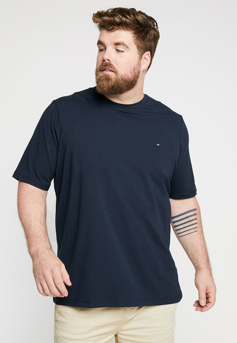 Tommy Hilfiger - STRETCH FIT TEE - T-Shirt basic - blue