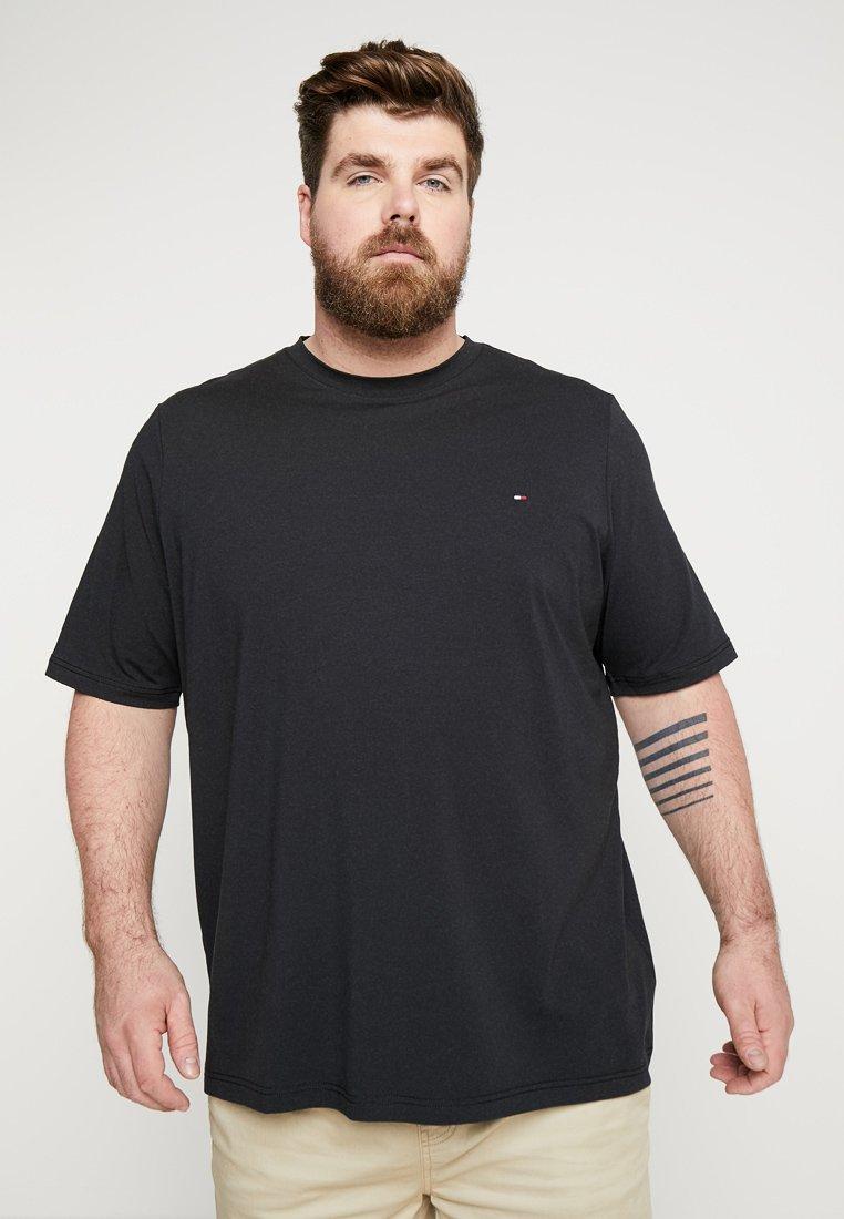 Tommy Hilfiger - STRETCH FIT TEE - T-shirt basic - black