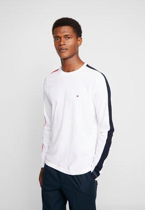 CONTRAST LONG SLEEVE TEE - Långärmad tröja - white