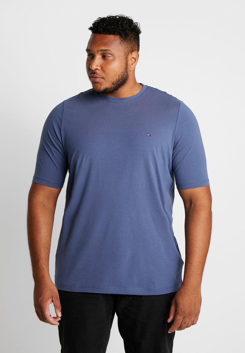 Tommy Hilfiger - STRETCH TEE - Basic T-shirt - blue