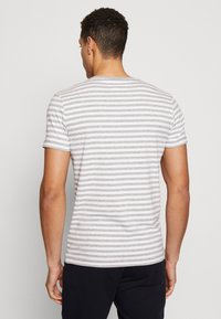 Tommy Hilfiger - STRETCH SLIM FIT TEE - T-shirt con stampa - grey - 2