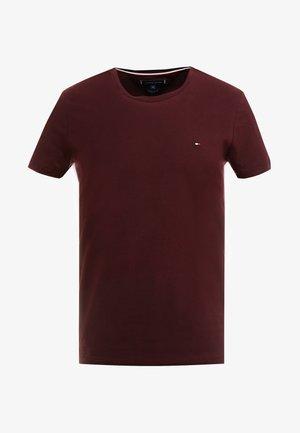 SLIM FIT TEE - Camiseta básica - red