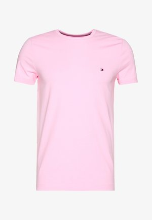 STRETCH SLIM FIT TEE - Camiseta estampada - pink