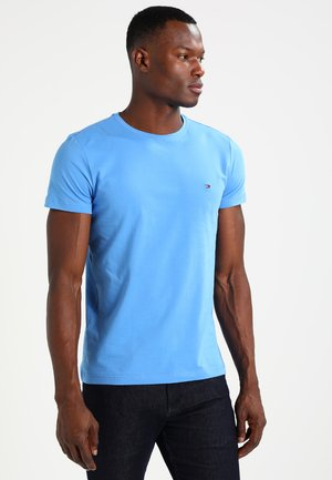 STRETCH SLIM FIT TEE - Camiseta estampada - regatta