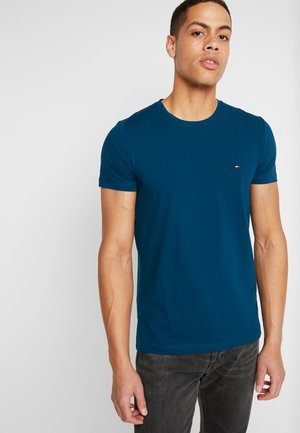 SLIM FIT TEE - T-shirt basic - blue