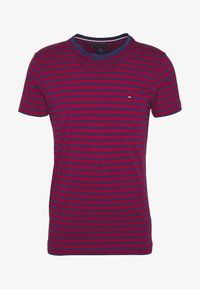 Tommy Hilfiger - STRETCH SLIM FIT TEE - T-shirt con stampa - red - 3
