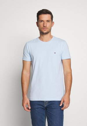 STRETCH SLIM FIT TEE - T-shirts med print - blue