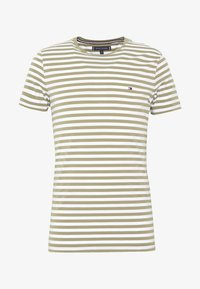 Tommy Hilfiger - STRETCH SLIM FIT TEE - T-shirt print - green - 3