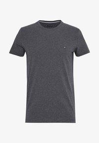 Tommy Hilfiger - STRETCH SLIM FIT TEE - T-shirt con stampa - grey - 3