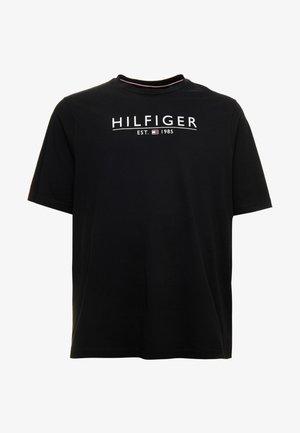 UNDERLINE TEE - Camiseta estampada - black
