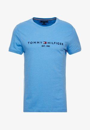 LOGO TEE - T-shirts med print - blue