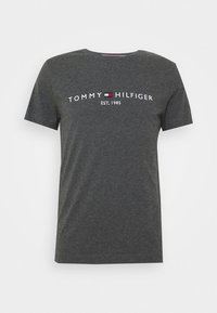 Tommy Hilfiger - LOGO TEE - T-shirt print - grey - 4
