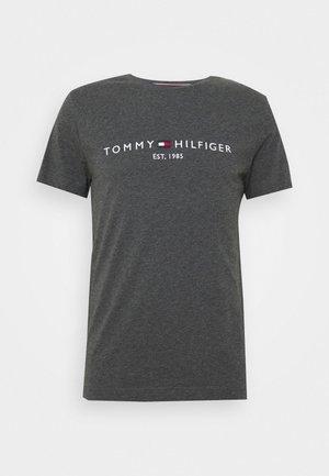 LOGO TEE - T-shirt imprimé - grey