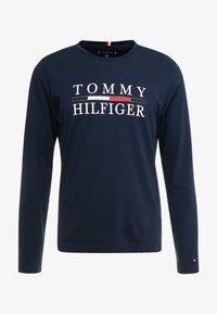 Tommy Hilfiger - LONG SLEEVE TEE - Långärmad tröja - blue - 3