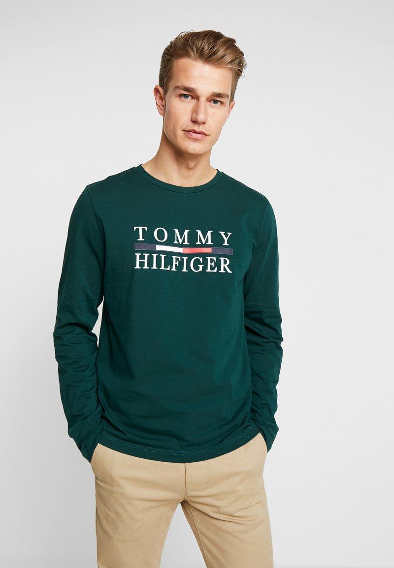 Tommy Hilfiger - LONG SLEEVE TEE - Maglietta a manica lunga - green