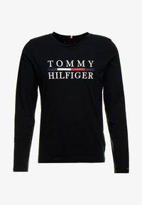 Tommy Hilfiger - LONG SLEEVE TEE - Bluzka z długim rękawem - black - 4