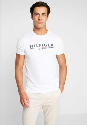 CORP UNDERLINE TEE - T-shirt print - white