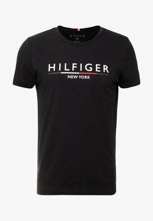 CORP UNDERLINE TEE - T-shirt con stampa - black