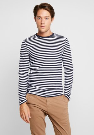 STRETCH SLIM FIT LONG SLEEVE - Långärmad tröja - blue
