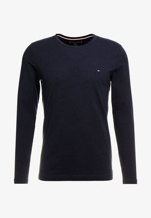 STRETCH SLIM FIT LONG SLEEVE - T-shirt à manches longues - blue