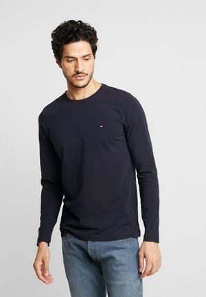 STRETCH SLIM FIT LONG SLEEVE - Topper langermet - blue