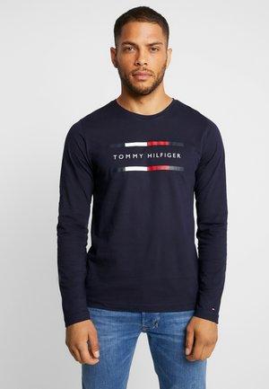 CORP LONG TEE - Långärmad tröja - blue