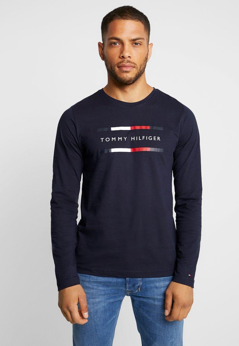 Tommy Hilfiger - CORP LONG TEE - Camiseta de manga larga - blue