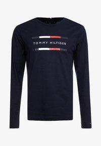 Tommy Hilfiger - CORP LONG TEE - Maglietta a manica lunga - blue - 5