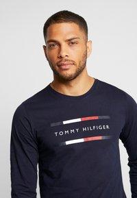 Tommy Hilfiger - CORP LONG TEE - Maglietta a manica lunga - blue - 3