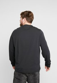 Tommy Hilfiger - STRETCH LONG SLEEVE TEE - T-shirt à manches longues - black - 2
